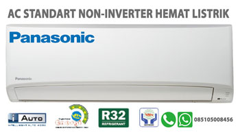 AC Standart Panasonic Non Inverter Hemat Listrik